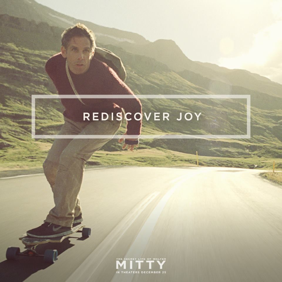 Walter Mitty Always Plays It Safe This Christmas Experience What