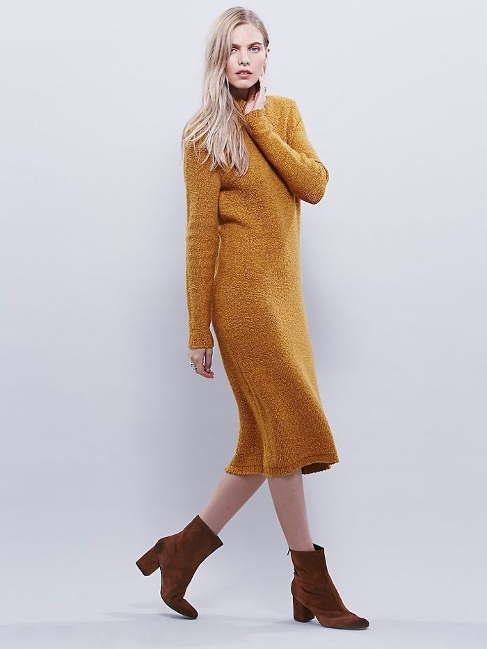 5 Sweater Dresses For Under 300 In 2020 Sweater Dress Turtleneck Sweater Dress Boho Outfits