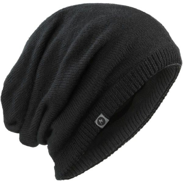 7a534aaaf98 Marmot Convertible Slouch Beanie ($23) ❤ liked on Polyvore featuring  accessories, hats, saggy beanie, slouch beanie, beanie hats, slouchy hat  and marmot ...