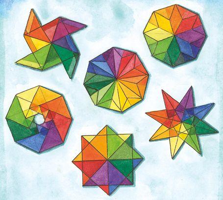Regenbogen-Kreisel - Im Januar | Labbé Onlineshop