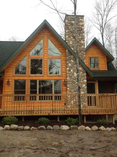 Quarter Log Siding Log Siding Siding Cedar Siding