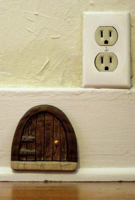 Cottage Fairy Door Mice Fairy And Doors