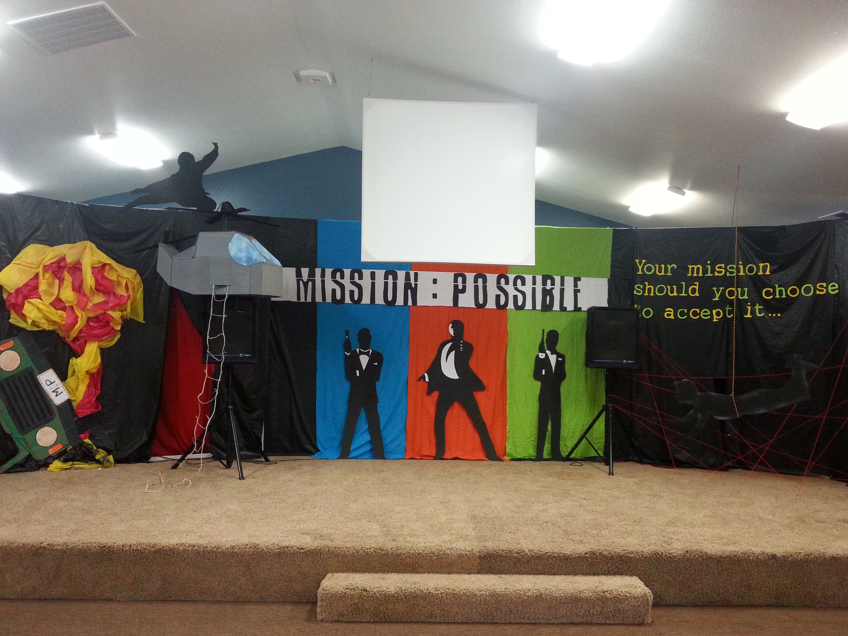 Mission Possible Decorations Google Search Summer School