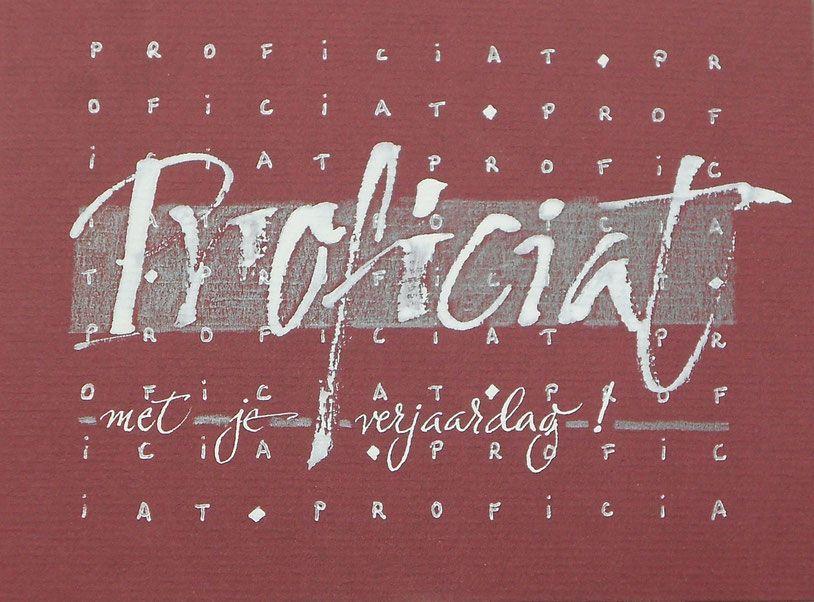 Kalligrafie op papier - De website van keramieke!