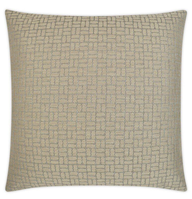 D.V. Kap Dupont Taupe Throw Pillow | Perigold
