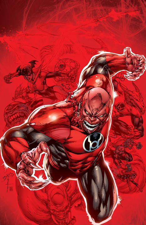 Atrocitus Red Lantern Corps Red Lantern Green Lantern Corps