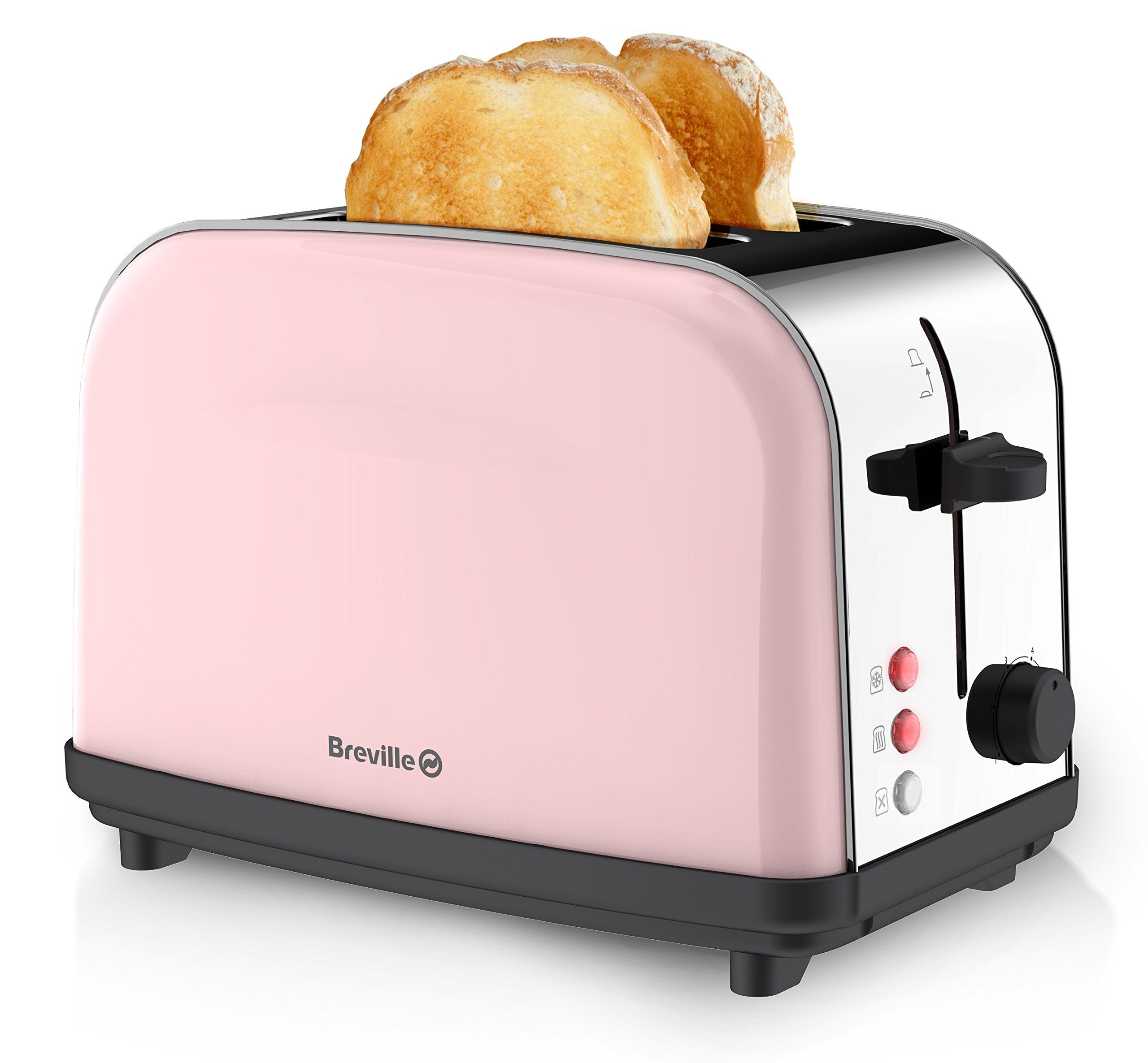 breville pick and mix 2 slice toaster strawberry cream amazoncouk