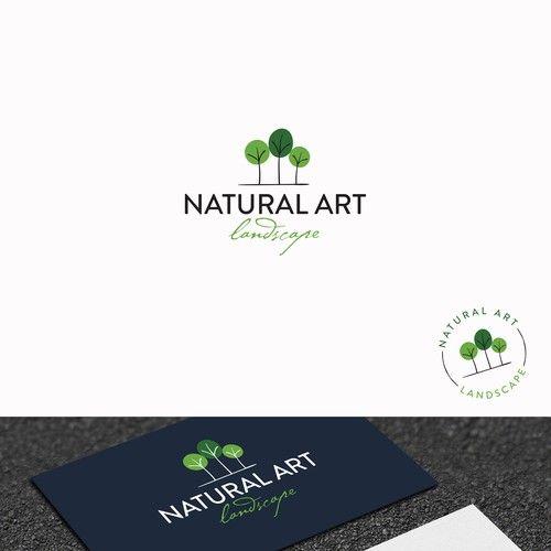 Natural art landscape design modern but sophisticated logo and natural art landscape design modern but sophisticated logo and business card colourmoves Gallery