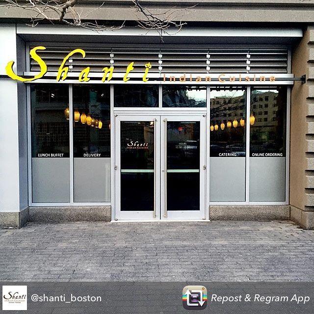 Repost from @shanti_boston using @RepostRegramApp - Good morning #KendallSquare! Doors officially open TODAY at 11:30am! #grandopening #shantiboston #CambMA #IndianCuisine #BestofBoston #delivery #catering by celestesheffey February 23 2016 at 06:55AM
