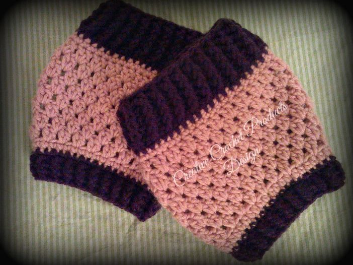 Creative+Crochet+products*:+Stretchy+Boot+Cuff+Pattern+(Free)+Adult+ ...