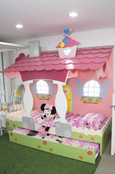 Dormitorio minnie bedrooms for Dormitorios infantiles tematicos