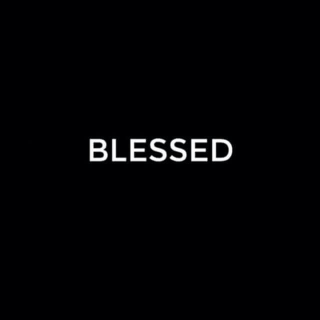 Blessed!