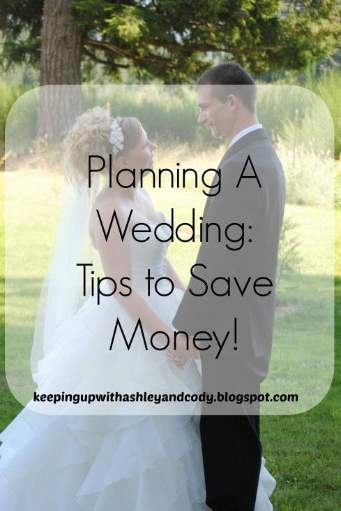 Planning A Wedding Tips To Save Money