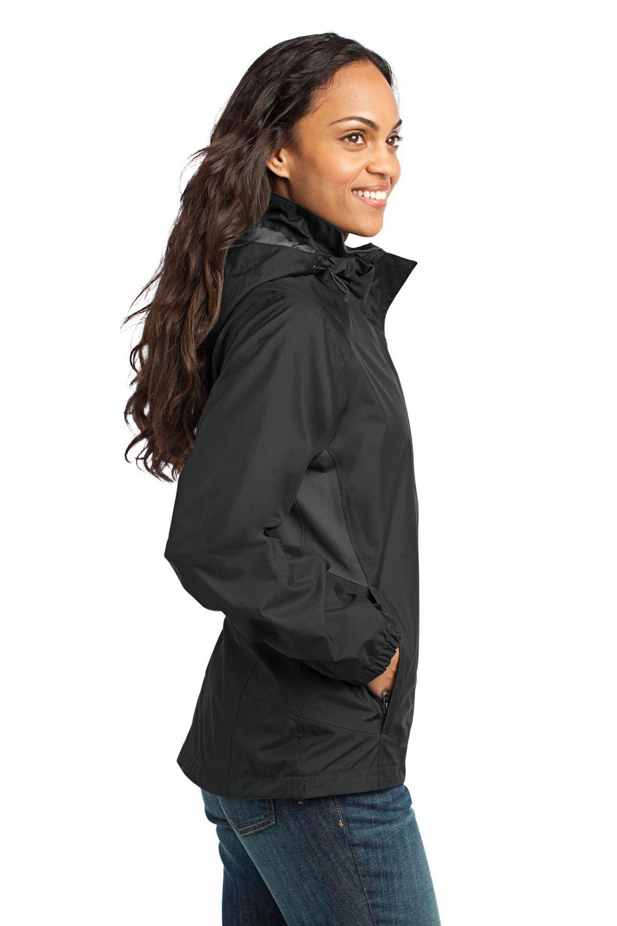 8beef9ca934d Eddie Bauer - Ladies Rain Jacket EB551 Black Steel Grey   ColumbiaRainJacketWomensgreen