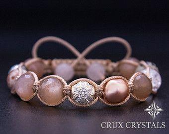 Karibik-Perlen Armband Crux Kristalle natürlichen von CruxCrystals