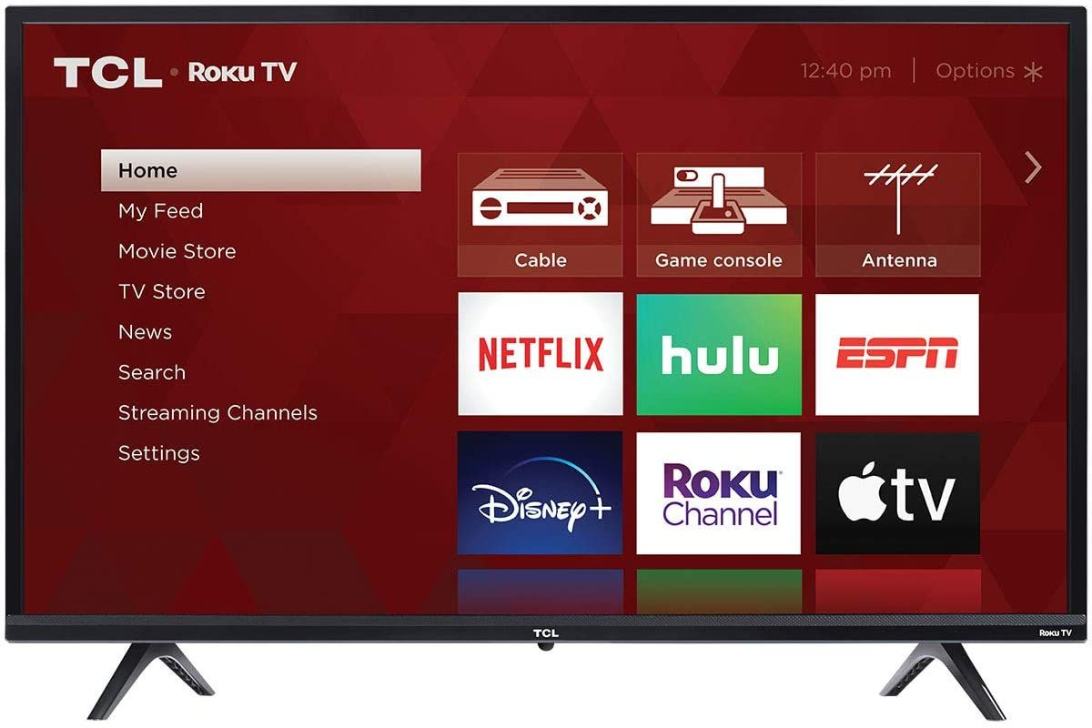 Tcl 32 3 Series 720p Roku Smart Tv 32s335 In 2021 Led Tv Smart Tv 32 Inch Tv