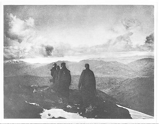 The Dark Mountains (Scottish Highlands), James Craig Annan  (Scottish, 1864–1946) 1890, Photogravure. James Craig Annan was among the most admired of the first generation of European Pictorialist photographers.