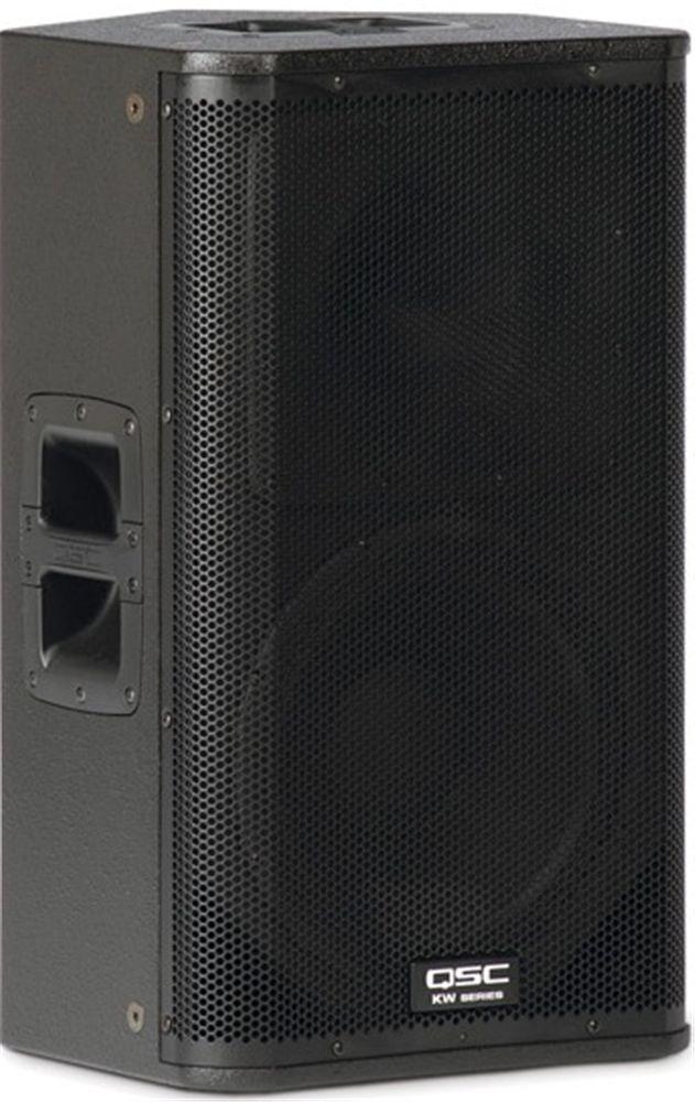 Qsc Kw122 12 Inch Kw Powered Speaker Music In 2019 Powered Speakers Pro Audio Speakers Audio Speakers