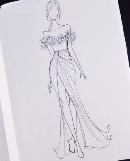 Photo of 69+ ideas fashion sketches illustration indian