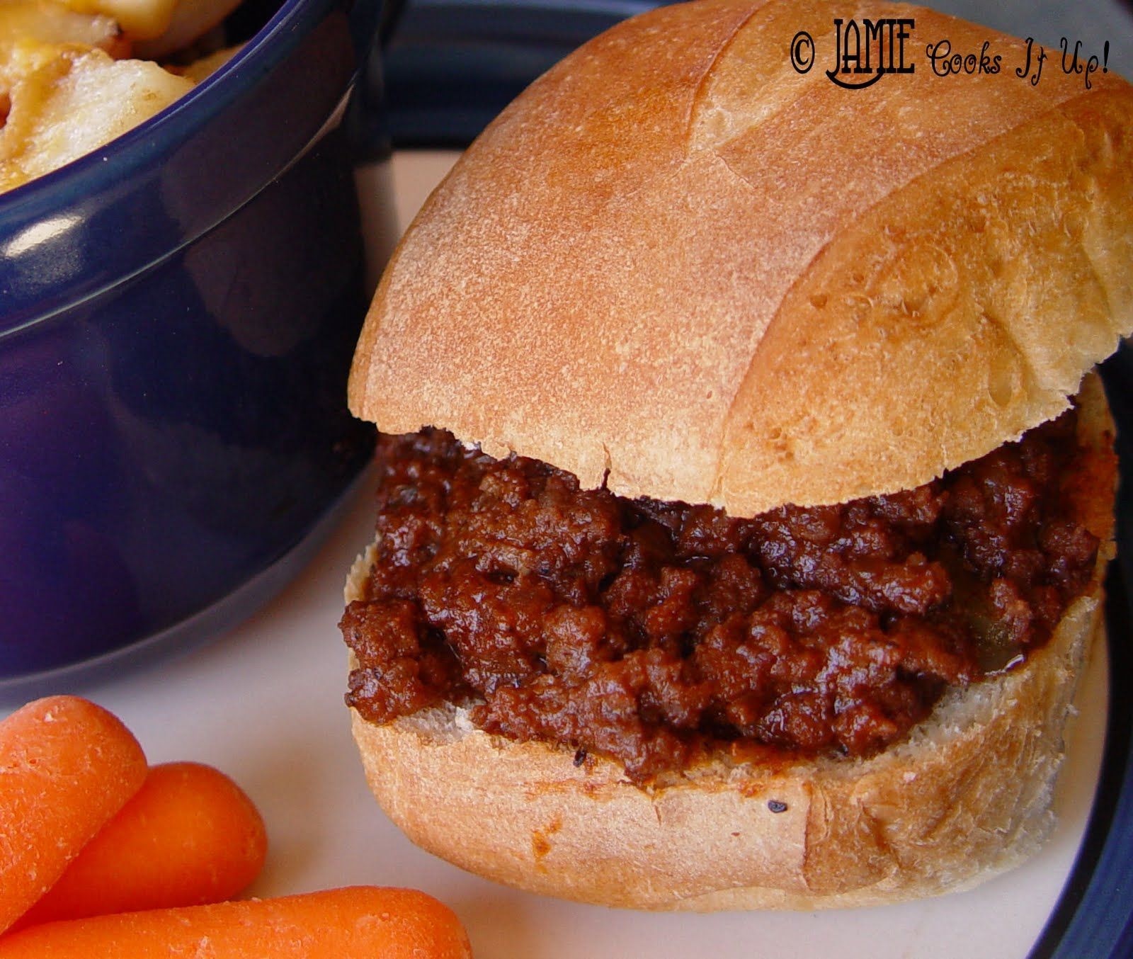 Jamie Cooks It Up Sloppy Joes Flavorful Fabulous Simply