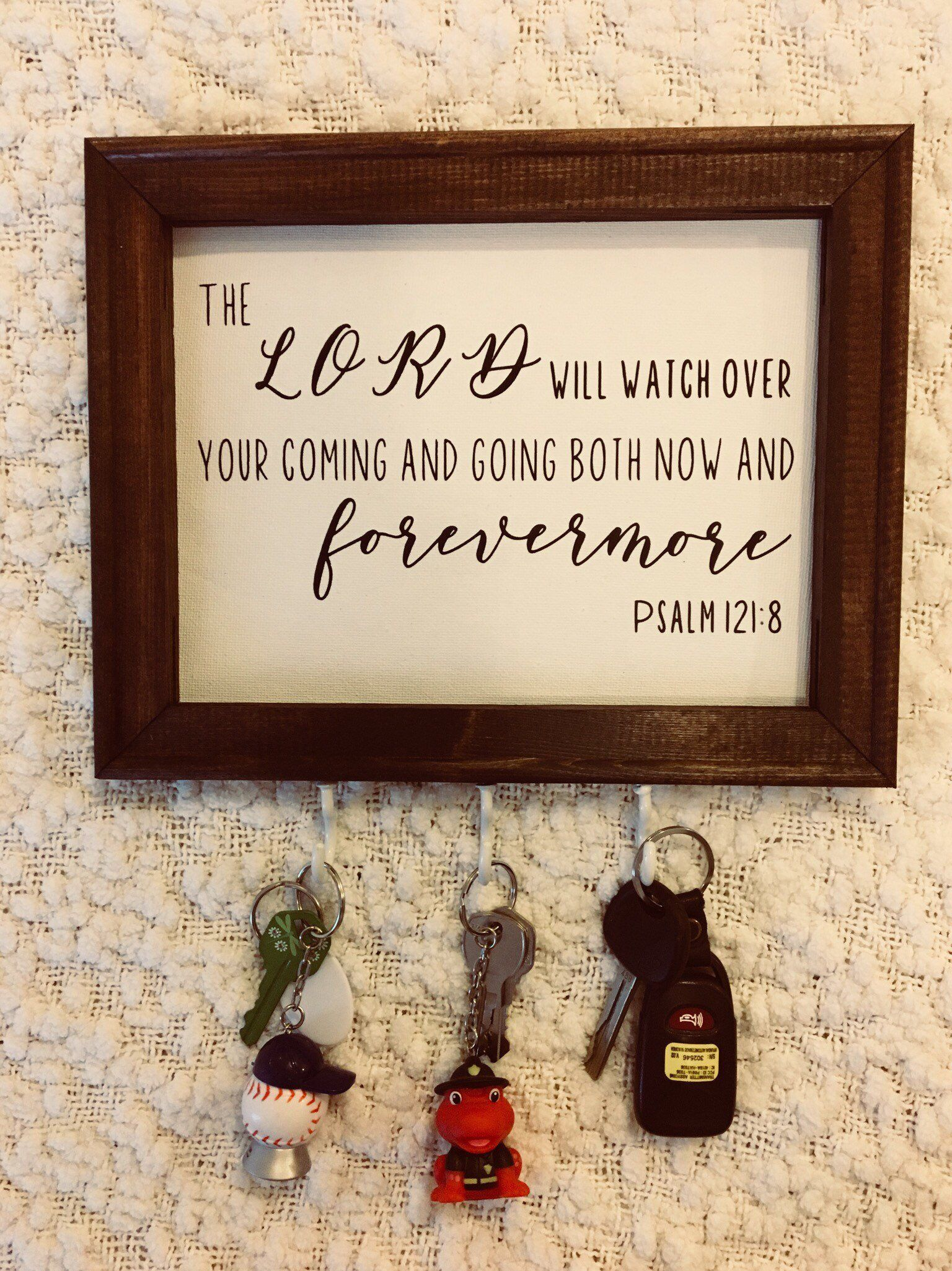 Excited To Share This Item From My Etsy Shop Wall Decor Key Holder Bible Verse Promises From T House Warming Gift Diy House Warming Gifts House Warming