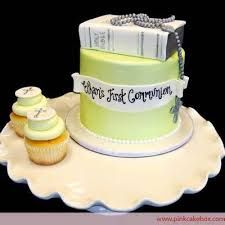 first communion cakes for boys - Google Search