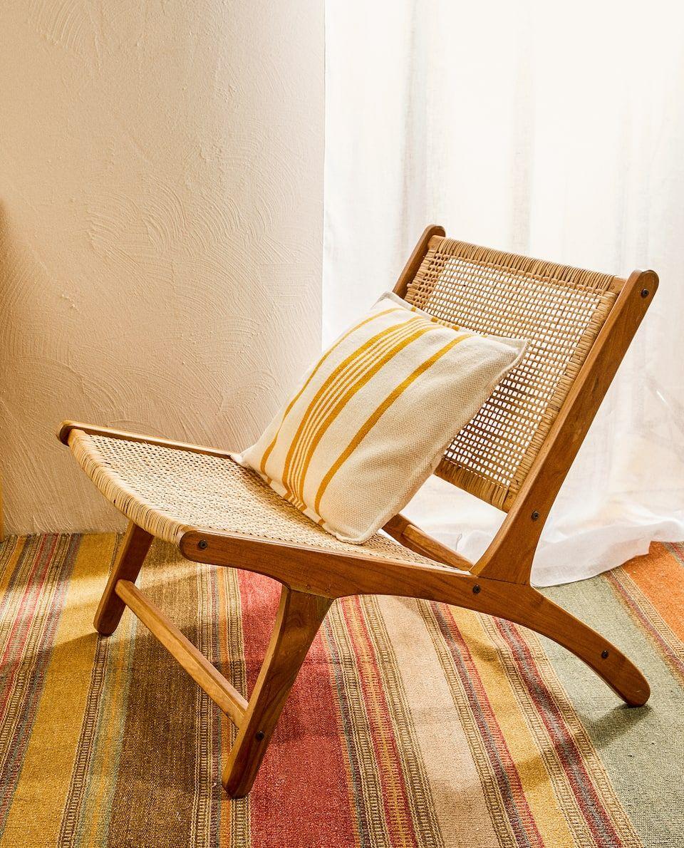Chaise En Rotin In 2020 Rattan Chair Chair Zara Home