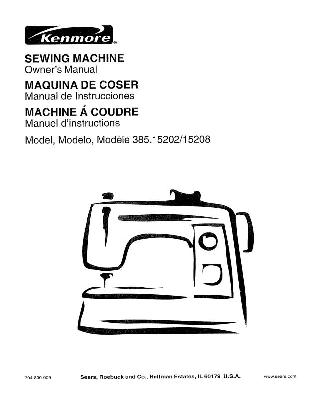 Online Kenmore Sewing Machine User Manual We Have This Sewing Beauteous Kenmore Sewing Machine Model 385 Owners Manual