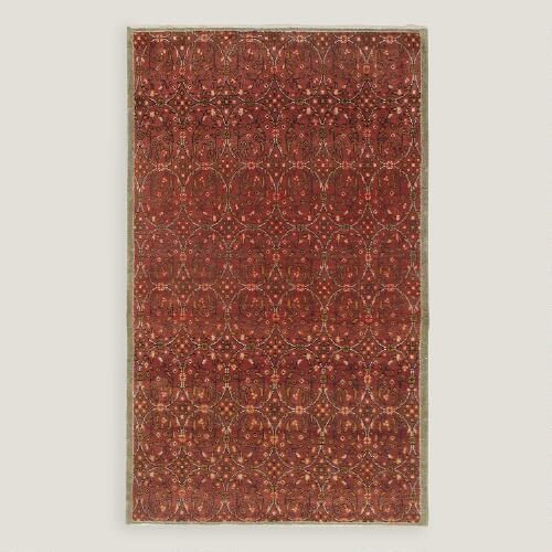 One of my favorite discoveries at WorldMarket.com: 5'2'x8'8' Vintage All Over Geometric Turkish Area Rug