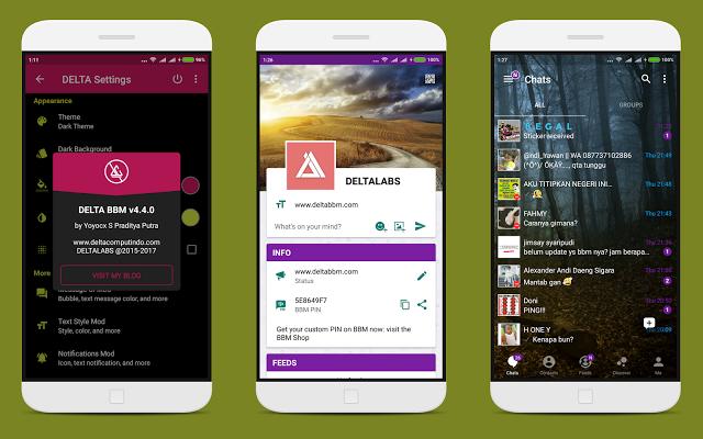 برنامج تشغيل رقمين بي بي ام بلس BBM v4.4.0 Mindfulness, App