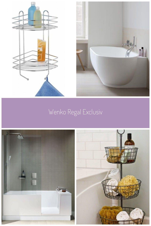 Wenko Regal Exclusiv Badezimmer Badewanne Ecke In 2020 Shower Bath Pretty Bathrooms Bathroom Storage