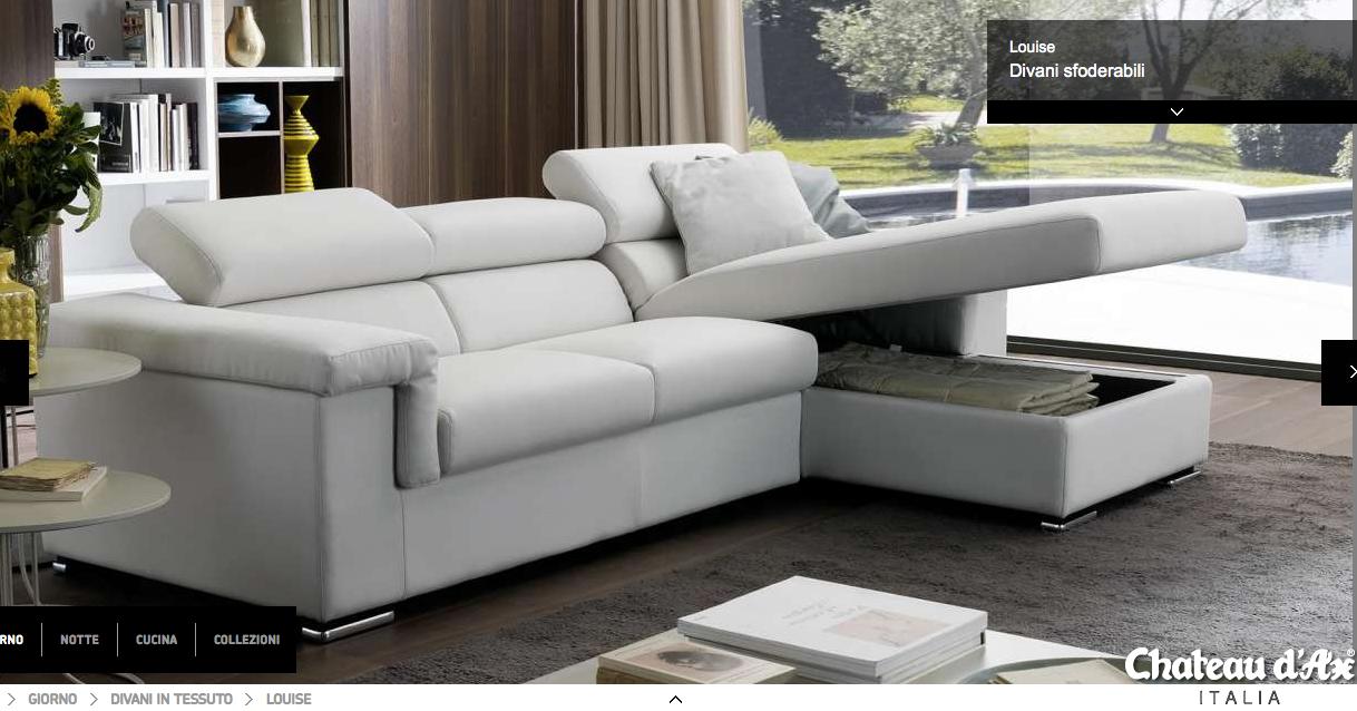 Divano louise chateau d 39 ax soggiorno e divani home decor interior design e decor - Chatodax divano letto ...
