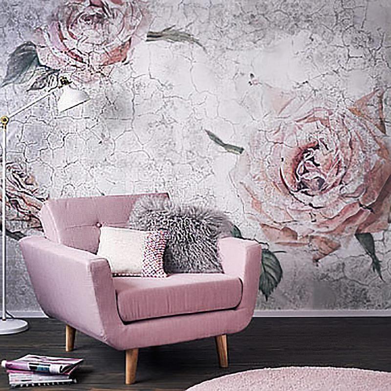 Komar Tantinet Floral Wall Mural Decal Wall Mural Decals Floral Wall Bedroom Floral Wall