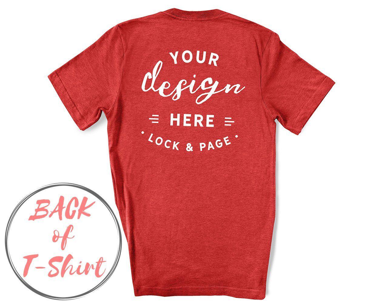 Download Back Of T Shirt Bc3001 Mockup Bundle Shirt Mockup Tshirt Mockup T Shirt