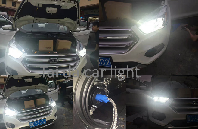 2017 Year Ford Escape Kuga Upgrade To Tai Da All In One Hid Car