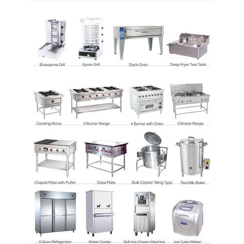 Commercial kitchen equipment in Bangalore in 2018 | Kitchen ...