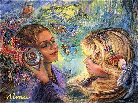 Shared Treasyre by Josephine Wall