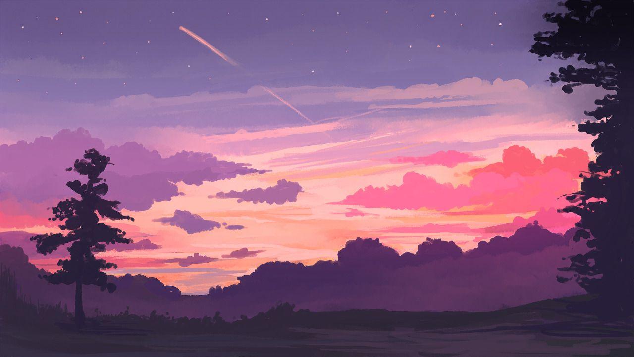 Last Rays Prints Available Star Plasma Desktop Wallpaper Art Aesthetic Desktop Wallpaper Landscape Wallpaper