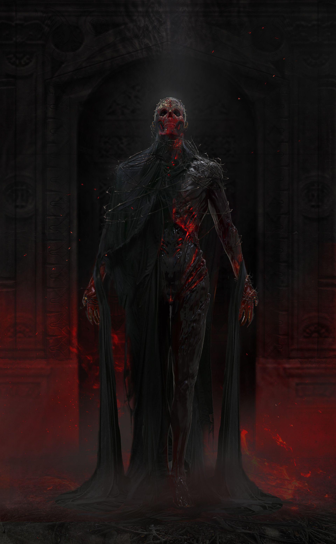 Lizardmen and Dragonborn - Fantasy Art | Dark fantasy