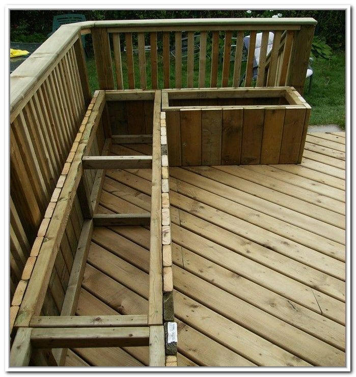 Deck Storage Bench Plans Google Search Deck Bench Garden