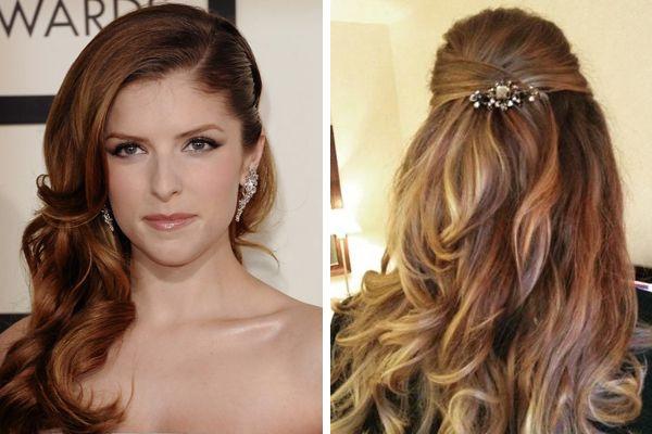 peinados para las damas de la boda