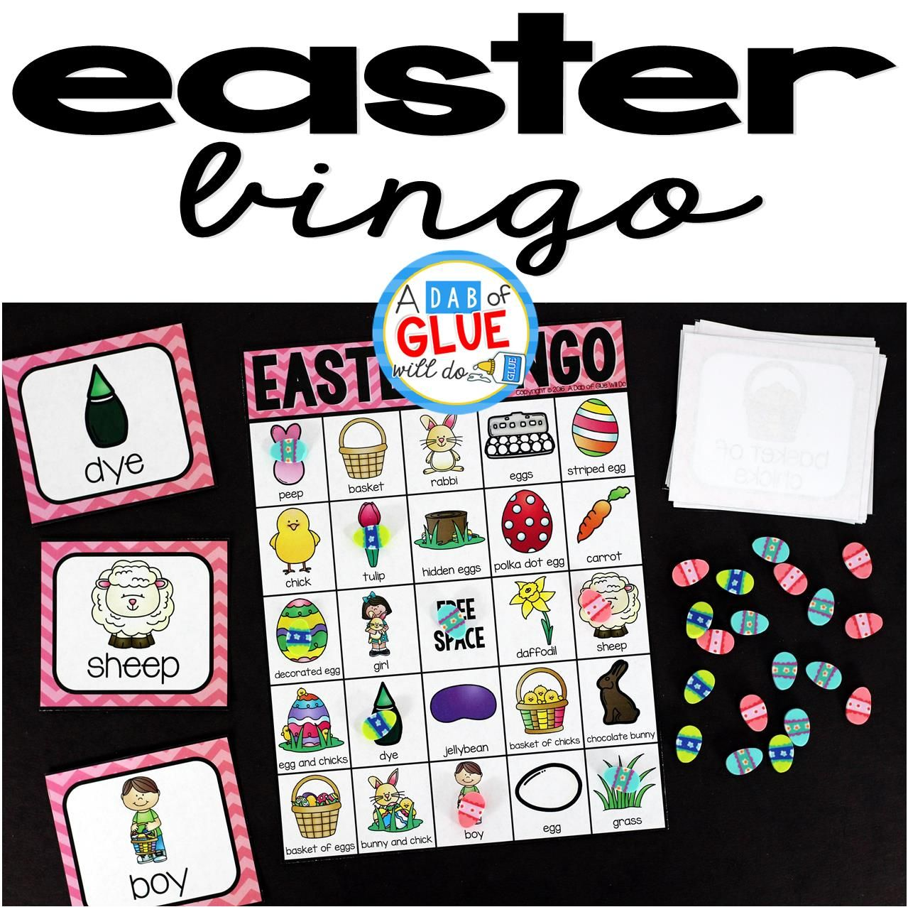 Bingo Sheets For Easter