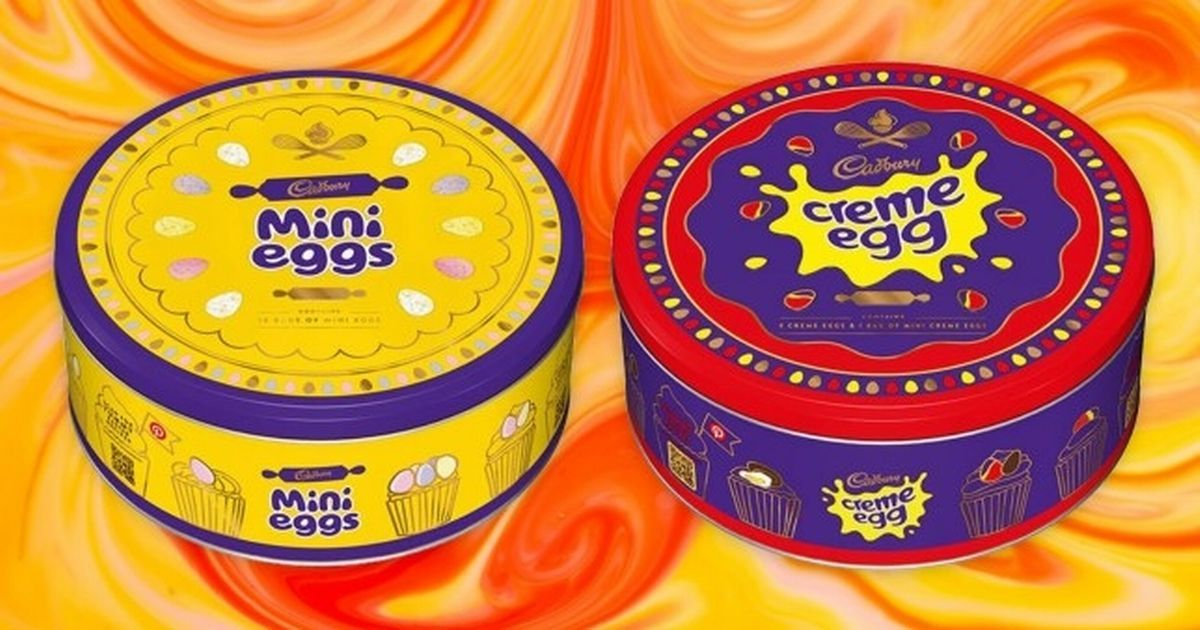 Cadbury is selling giant tins of mini eggs and creme eggs