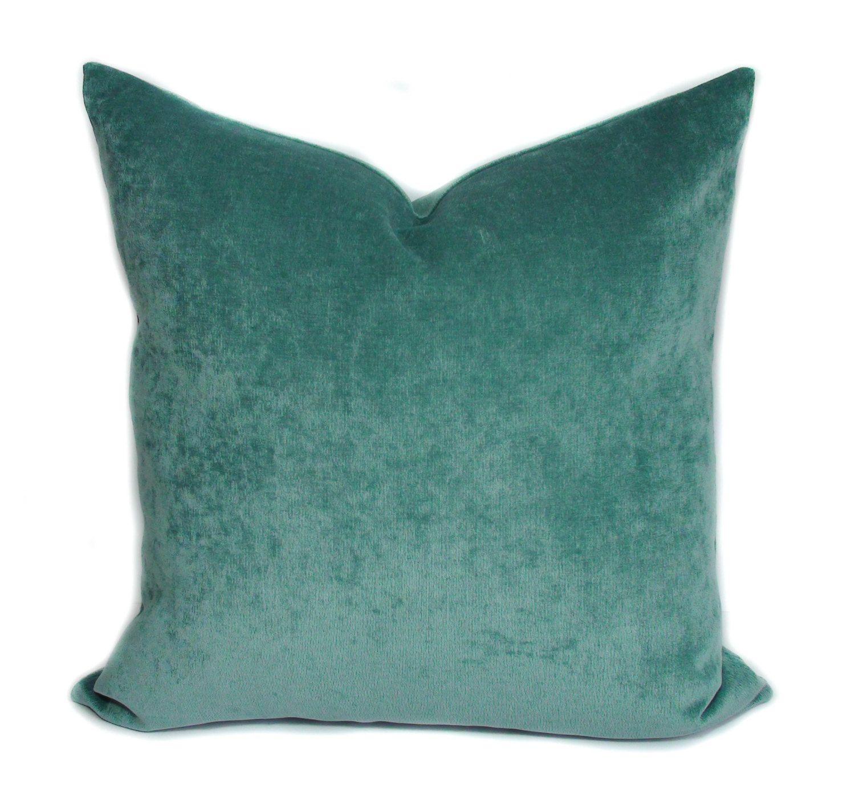 Throw pillow covers Decorative pillows Teal pillow Pillow cover