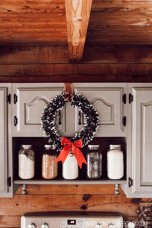 5 Ways To Display Kitchen Christmas Wreaths Christmas Wreaths Candle Sconces Christmas