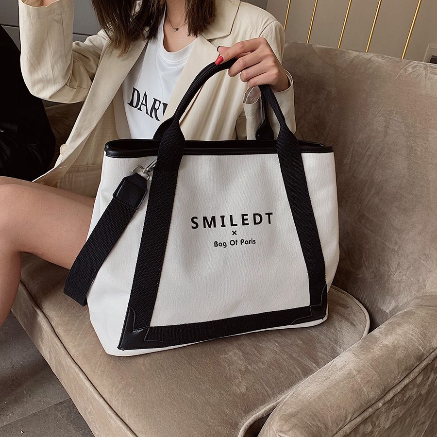 Women/'s Fashion  Canvas  Bags Handbag Shoulder Bag Ladies  Large Crossbody Tote
