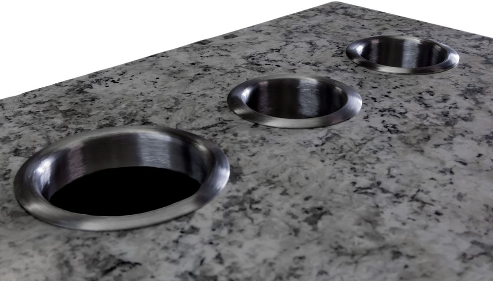 Stainless Steel Countertop Grommets Stainless Steel Countertops Grommets Countertops