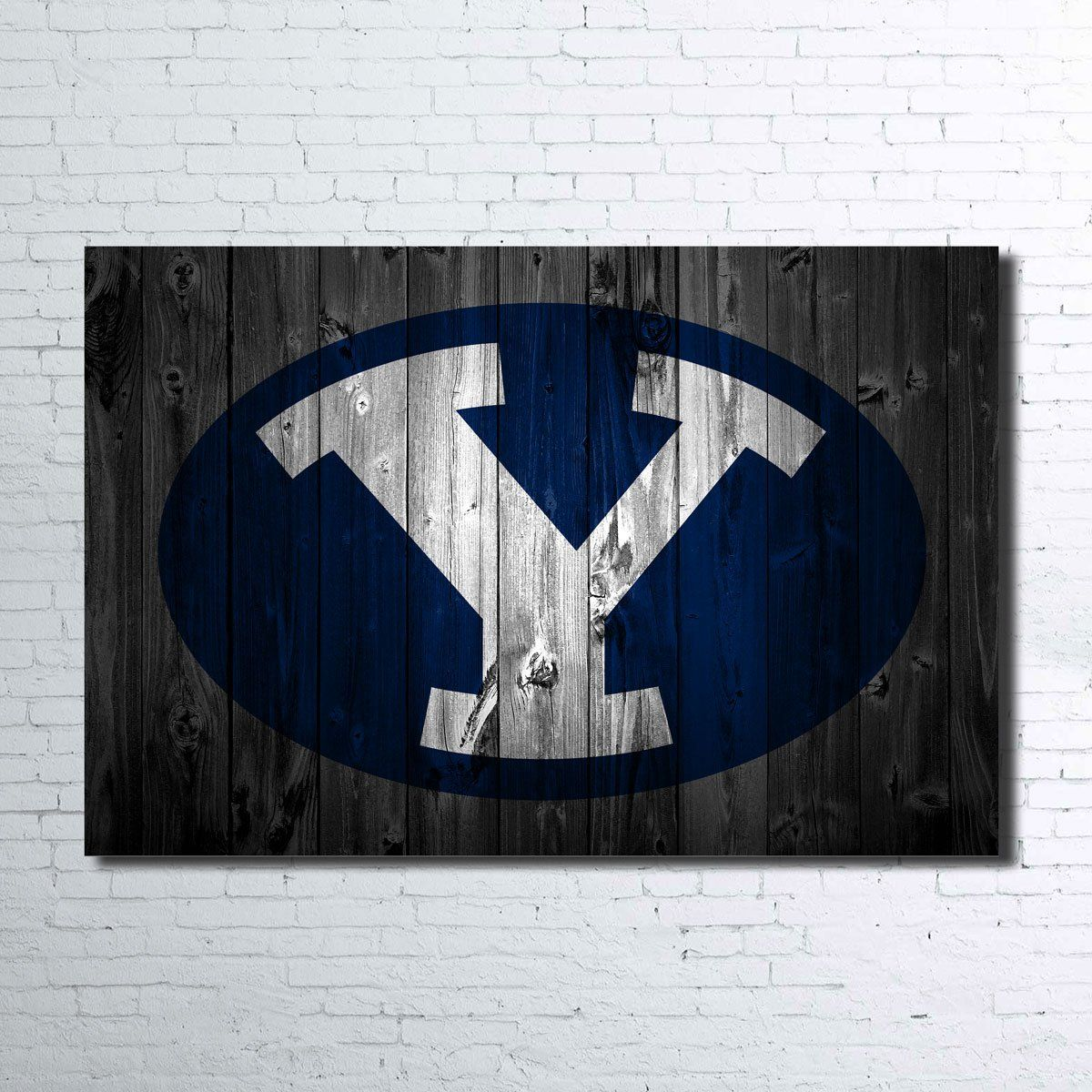 Byu Cougars Wall Canvas Paragon Apparel Wall Canvas Canvas Prints