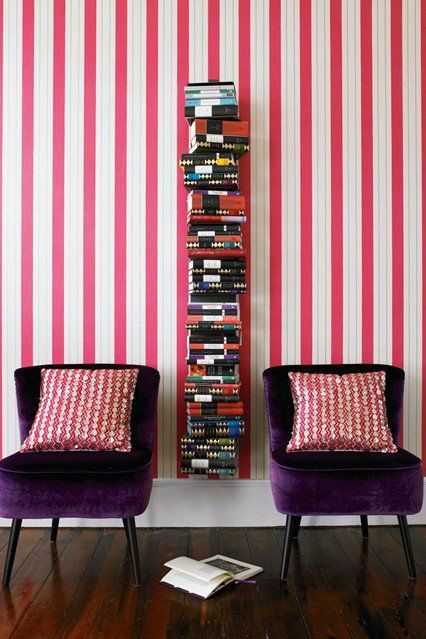 38 Fantastic Home Library Ideas For Book Lovers | Vertical bookshelf ...