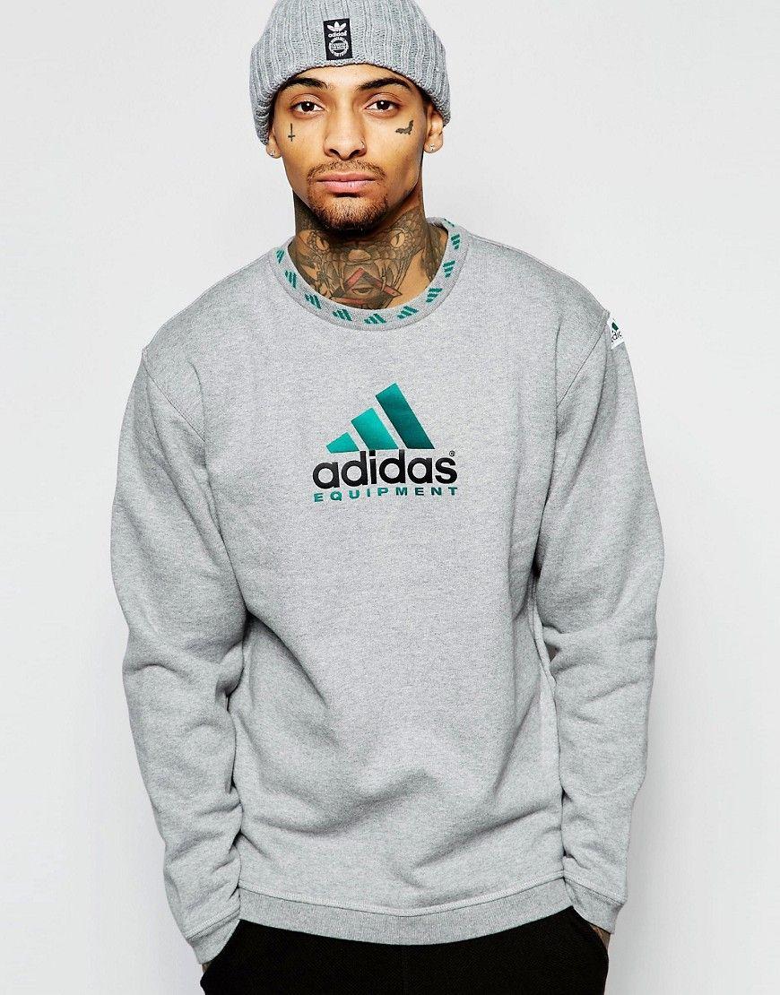 adidas Originals Samstag Polo Neck Herren Sweatshirt
